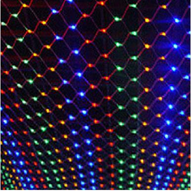 new year garland led christmas lights outdoor luces navidad led cristmas lights decoration waterfull string light luzes de natal New Year! 2x3M Garlands LED Christams Lights Outdoor Decoration LED Net String Lights EU/US Plug Holiday Luzes De Natal Garland