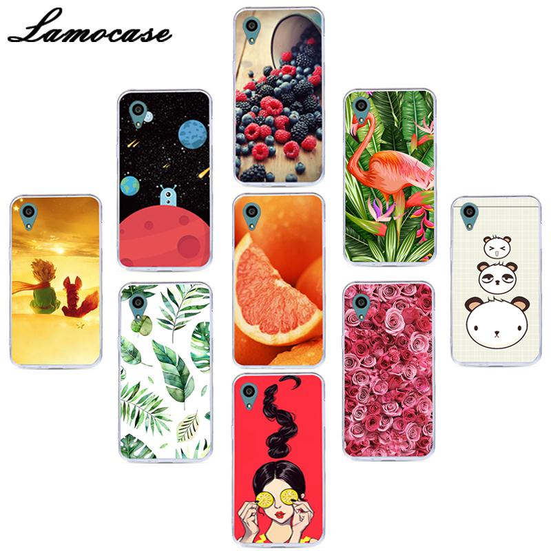 Lamocase TPU cubierta de teléfono impresa para Sony Xperia Z5 Premium Z5 Plus E6853 Dual E6833 E6883 Z5 + flamenco jirafa funda trasera