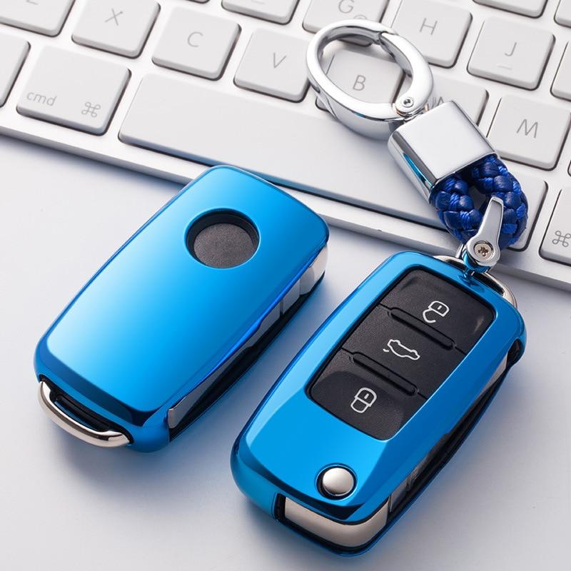 Coque de Protection en TPU souple pour voiture   Pour VW Golf GOLF Bora Jetta POLO Passat Skoda Octavia A5 Fabia SEAT Ibiza Leon, Protection de voiture, nouveau 2019