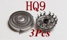 3pcs old Replace HQ9 razor blade Head for philips Norelco Electric Shaver PT920 PT927CC PT927 PT720 PT725 PT730 PT735 hq8 hq64