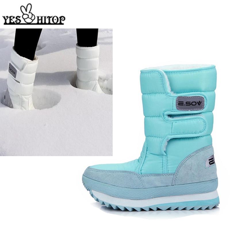 2019 new women shoes ladies snow boots warm waterproof non-slip ladies boots multi-color optional
