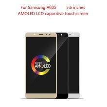 AMOLED 6.0 LCD pour SAMSUNG GALAXY A6 Plus LCD écran tactile numériseur assemblée pour SAMSUNG A6 Plus 2018 A605 A605FD LCD