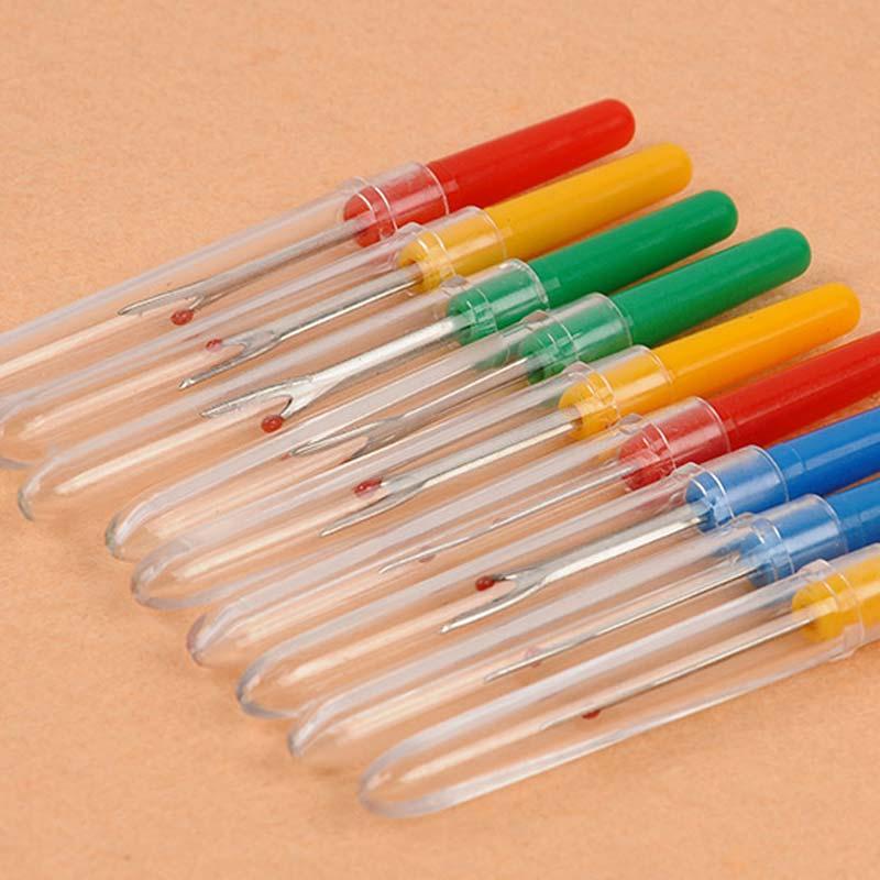 1 pçs plástico cabo costura ripper ponto unpicker ferramenta de costura cortador de fio artesanato ripper