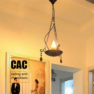 O braseiro pastoral estilo Americano varanda lâmpada luzes do corredor lâmpada varanda restaurante lâmpada lustre lâmpada