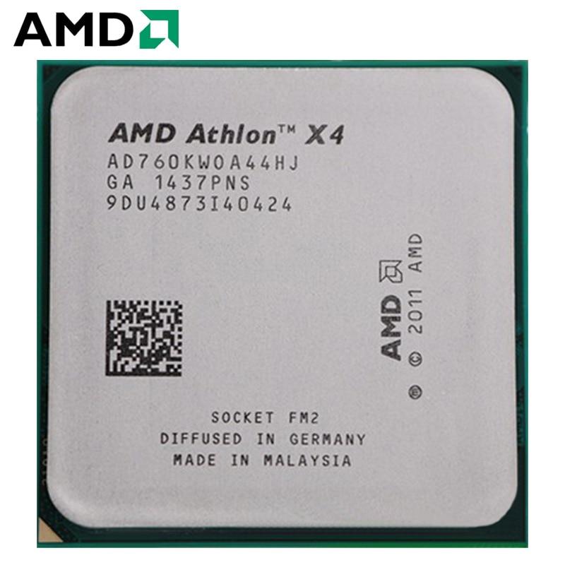 AMD Athlon II X4 760K hembra FM2 100W 3,8 GHz 904-pin CPU...