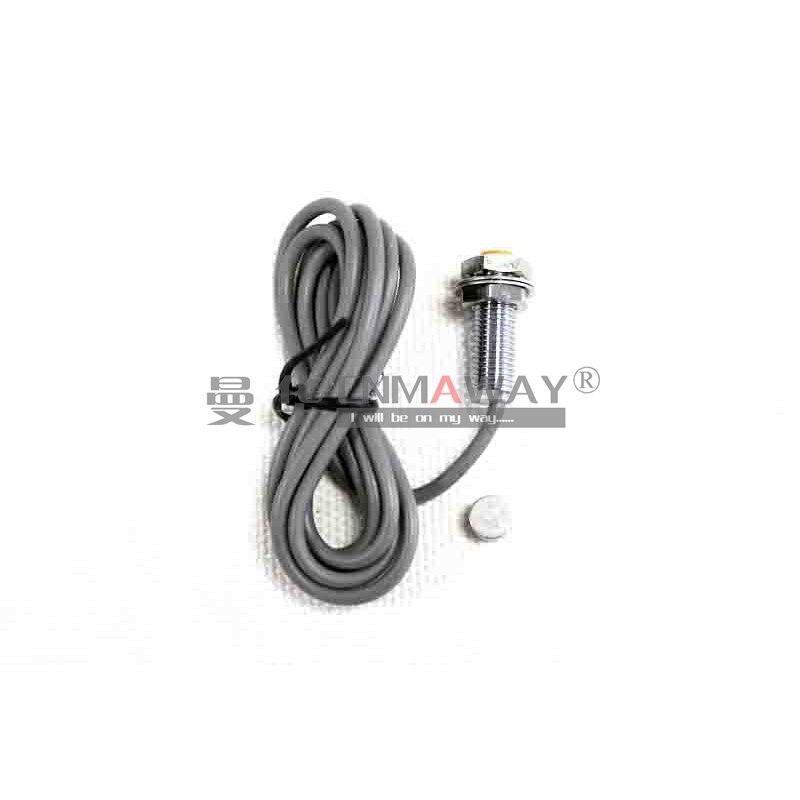 8MM Diameter Cylinder Hall Sensor Proximity Switch NO PNP 10MM Detection distance NJK-5001A 3-WIRE DC6-36V