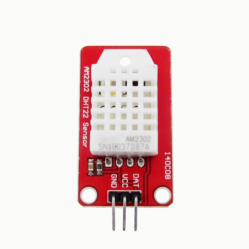 5 uds de alta precisión AM2302 DHT22 Digital de temperatura y Módulo sensor de humedad