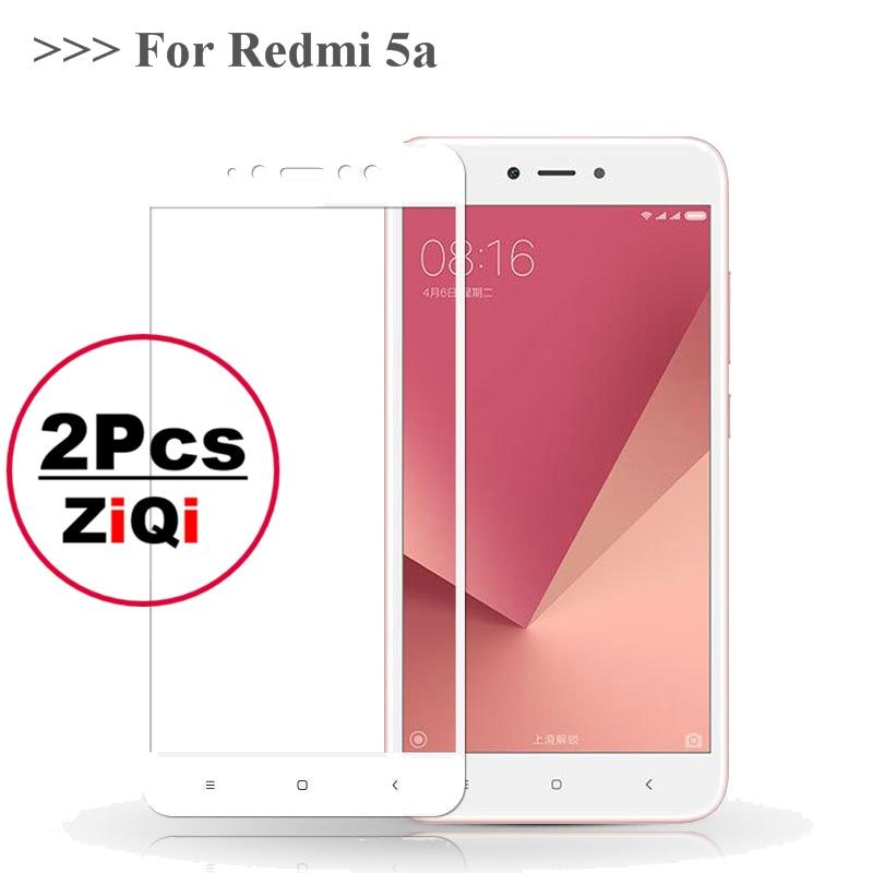 Ziqi 2 шт. Защитное стекло для экрана Redmi 5A стекло для Xiaomi Redmi 5A закаленное стекло для Xiaomi Redmi5A пленка pelicula de vidro