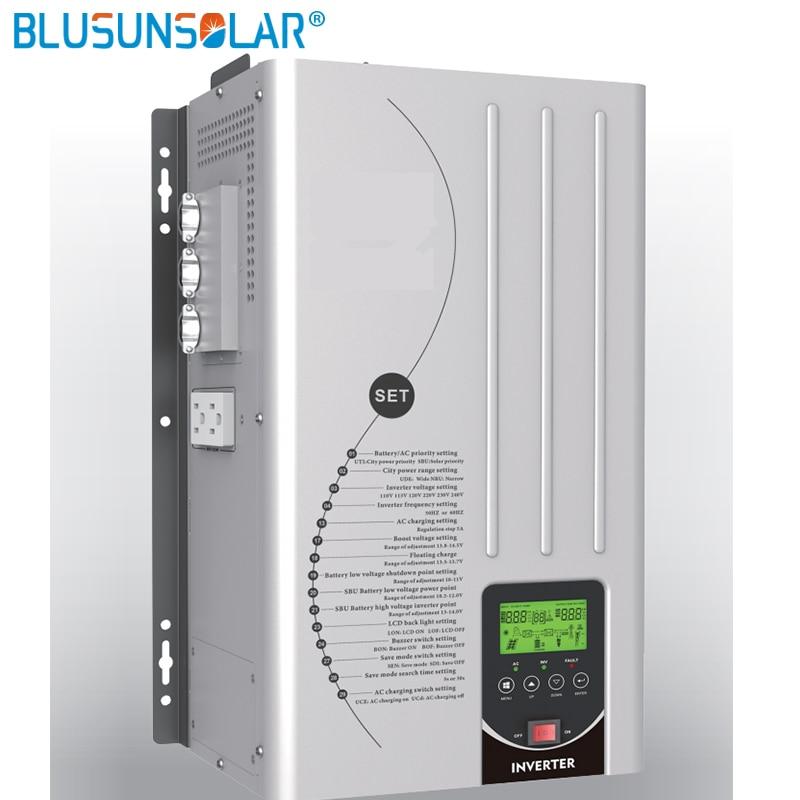 Off grid Inverter 5000W 110Vac/220Vac Pure Sine Wave Inverter AC Charger