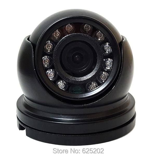 Cámara domo CCTV económica interior CMOS 800TVL con 12IR carcasa de Metal
