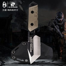 HX BUITEN AUS-8Knife Strike Messen Survival Jachtmes Camping COOL Tools Kamp Hunt Pocket Survival G10 Handvat accessoires