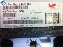 Inducteur décran cms N 6.6X4.45MM WURTH   74451168 68UH 0,4a, inducteur blindé