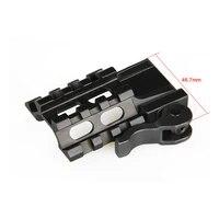 ppt tactical airgun accessories scopes rails quick detachable scope angle mount for 22mm rail gz22 0226