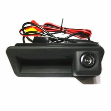 HD CCD Ford mondeo için odak Fiesta Hatchback Sedan CHIA-X araba park yedekleme dikiz kamera boot anahtarı kolu