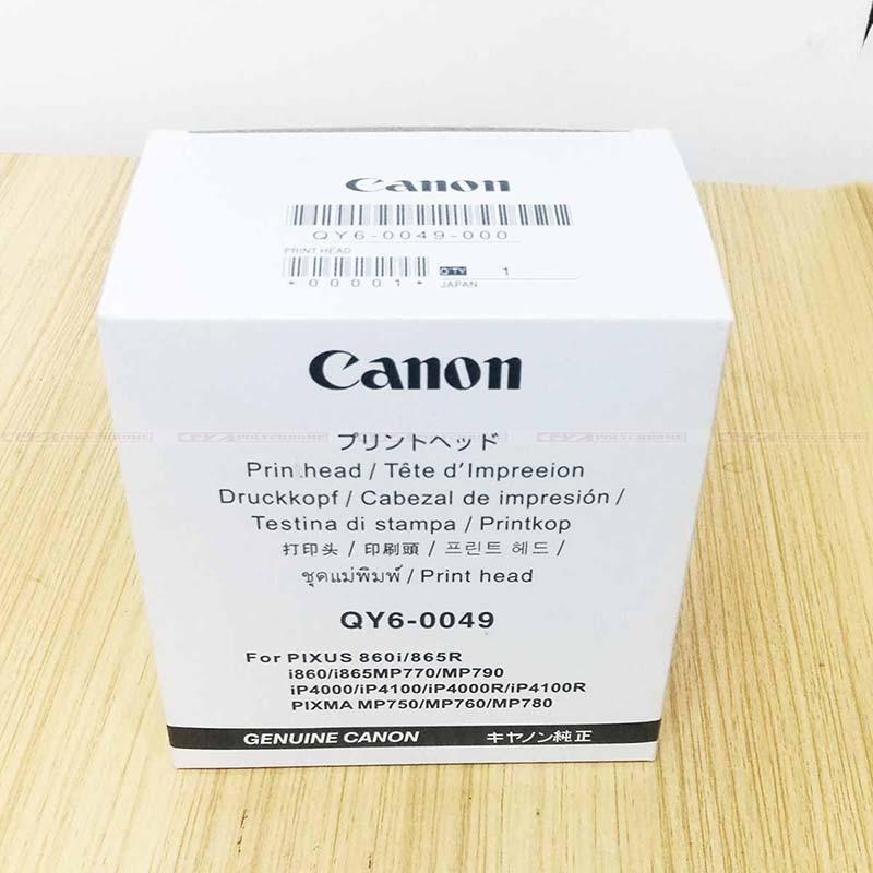Neue Original Qy6 0049 Druckkopf Für Canon Pixus 860i 865r I860 I865 Mp770 Mp790 Ip4000 Ip4100 Ip4000r Ip4100r Pixma Mp750 Mp760 Print Head Canon Headcanon I865 Print Head Aliexpress