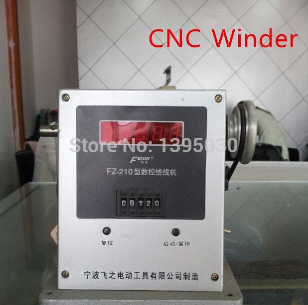 220v automatic cnc programming winding machine 1pc FZ-210 CNC Electronic Winding Machine Electronic Winder Electronic Coiling Machine Winding Diameter 0.03-0.35mm