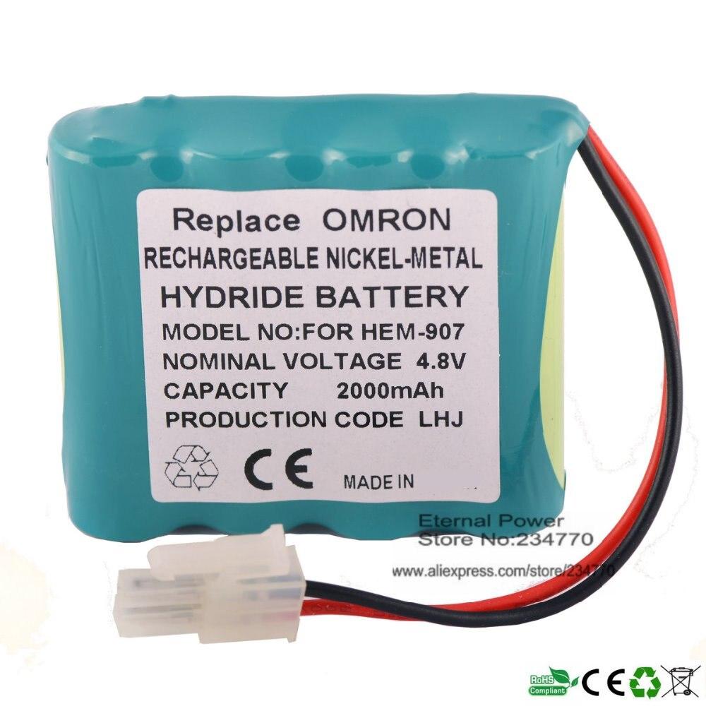 Sphygmomanometer Battery Replacement For Omron blood pressure  HEM-907,HEM-907XL,48H907N,HEM-907-PBAT,HEM-907XL Medical battery