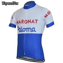 NEW mens white/blue Cycling jersey Short Sleeve Full Zipper Race cycling clothing top bike wear