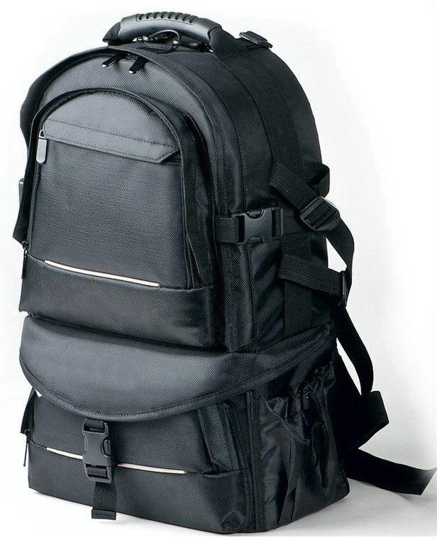Новая Профессиональная Большая сумка для камеры, рюкзак для DSLR SLR Nikon Canon Sony Fuji Pentax Samsung S004