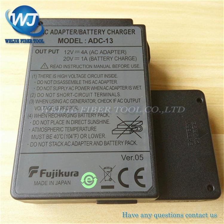 Original Fujikura ADC-13 adaptador de CA para Fujikura FSM-60S FSM-60R FSM-18S FSM-18R fusión batería empalmador adaptador de cargador