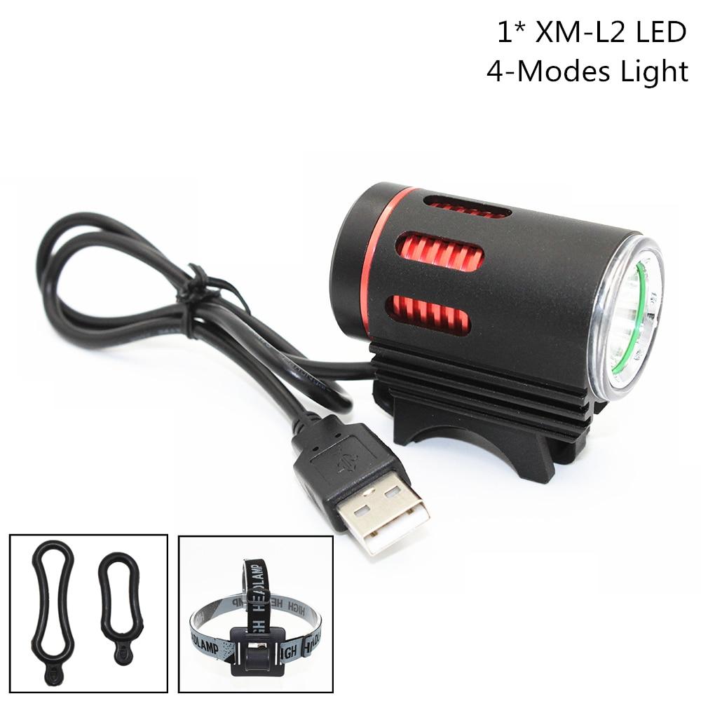 headlight format nb11 22 front 1 led domestic led 2400 mah ip65 6V-8V USB Rechargeable XM-L2 LED 1200LM LED Headlight Lamp Bicycle Light Bike Front Headlamp
