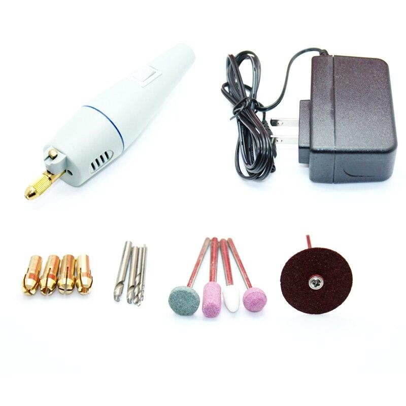 Juego de herramientas rotativas mini kit de perforación furadeira herramientas eléctricas taladro...