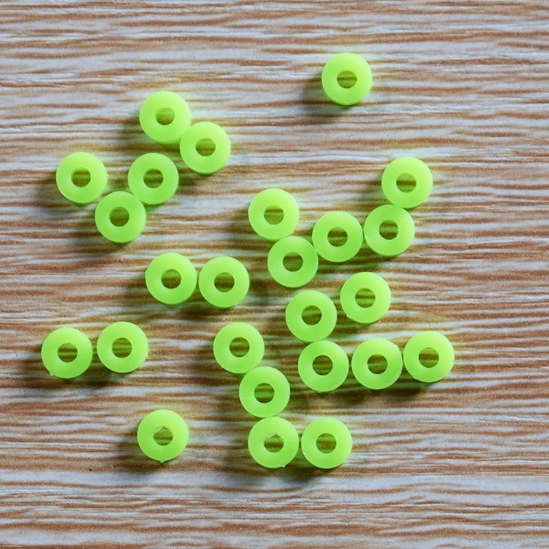 100/1000 piezas 6x2mm casquillo/manga de agujero 2,5mm/bujes de junta de plástico/almohadillas de aislamiento/juguete DIY/piezas de modelo de tecnología