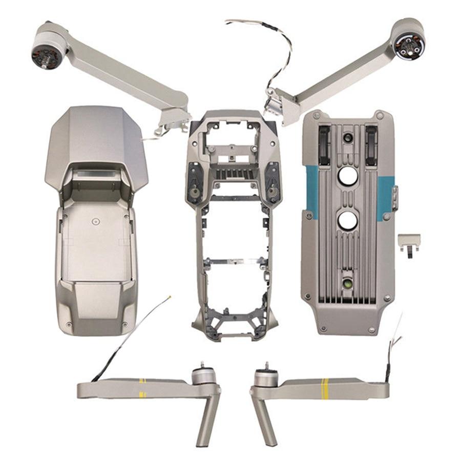 DJI-piezas de reparación Mavic Pro Platinum, brazo trasero derecho e izquierdo, carcasa...