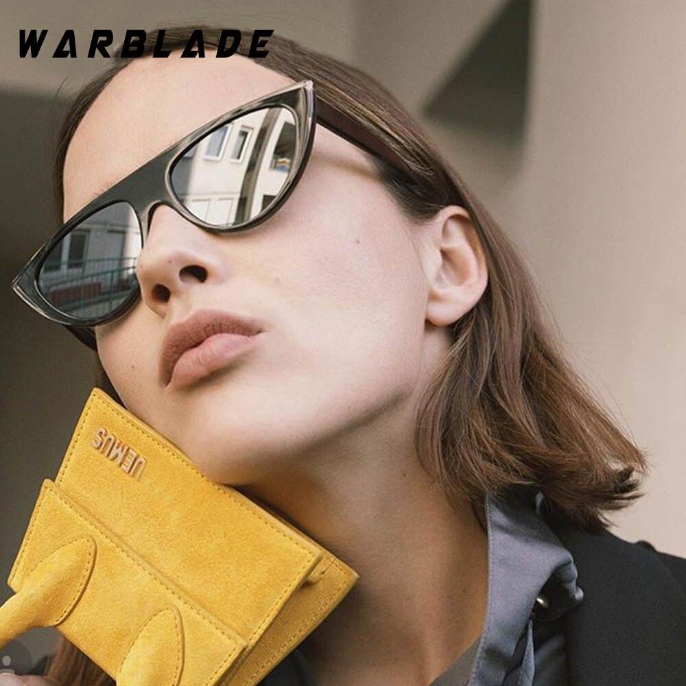 Elegant Lady Cat Eye Sunglasses Women Brand Designer Gradient Lens Flat Top Sunglasses Shades UV400