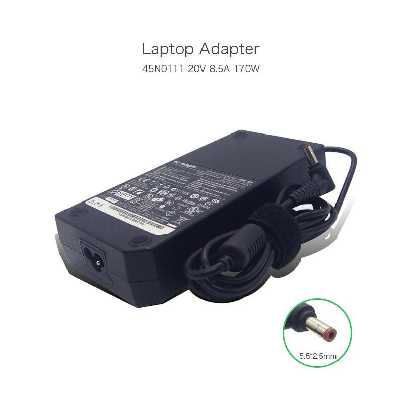 Mejor venta de 20 V 8.5A 170 W 5,5*5,5mm adaptador AC DC para Lenovo Y500 Y500N 45N0111 36200401 de la fuente de alimentación del ordenador portátil