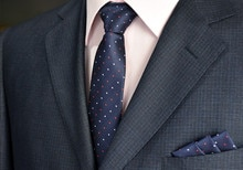 SCST Brand Gravata White Red Dot Print Navy Blue Neckties Skinny Ties For Men Silk Tie With Match Handkerchiefs 2pcs Set CR060