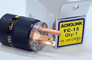 LN002372 Acrolink refrigeration Series FP-10 Speaker Cable Male Power Plug Adapter Hifi