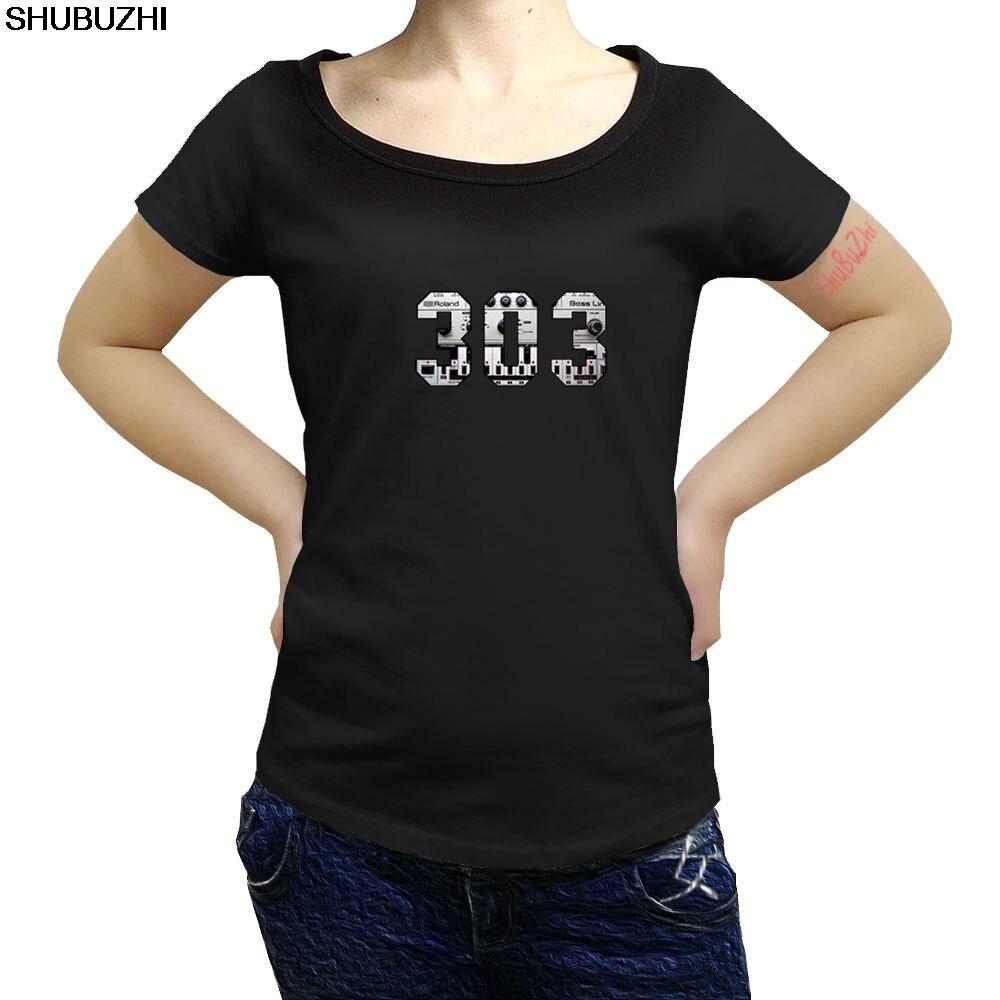 TB303 Music Sampler women summer T Shirt DJ Pioneer CDJ 2000 NXS DJM AKAI 808 Technics Serato  Cool Casual pride t shirt sbz1410