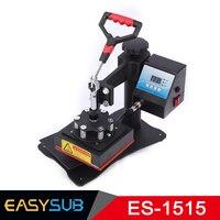 CE Certification High Pressure 15x15CM T shirt Heat Press Machine Sublimation Transfer for Bag Case Puzzle Glass Wood Rock Photo