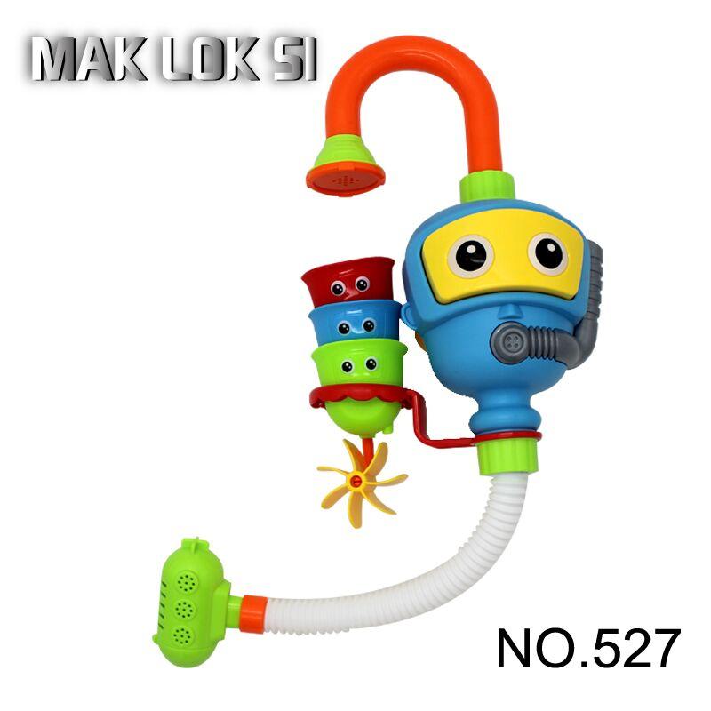 Детские игрушки для душа и ванны, милые водяные колеса, спрей, игрушки для воды, детский кран для купания, инструмент для распыления воды, тип...