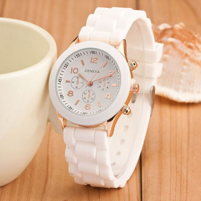 Unisex Silicone Rubber Jelly Gel Quartz Analog Sport Wrist Watch Luxury Valentine Gift Wristwatches