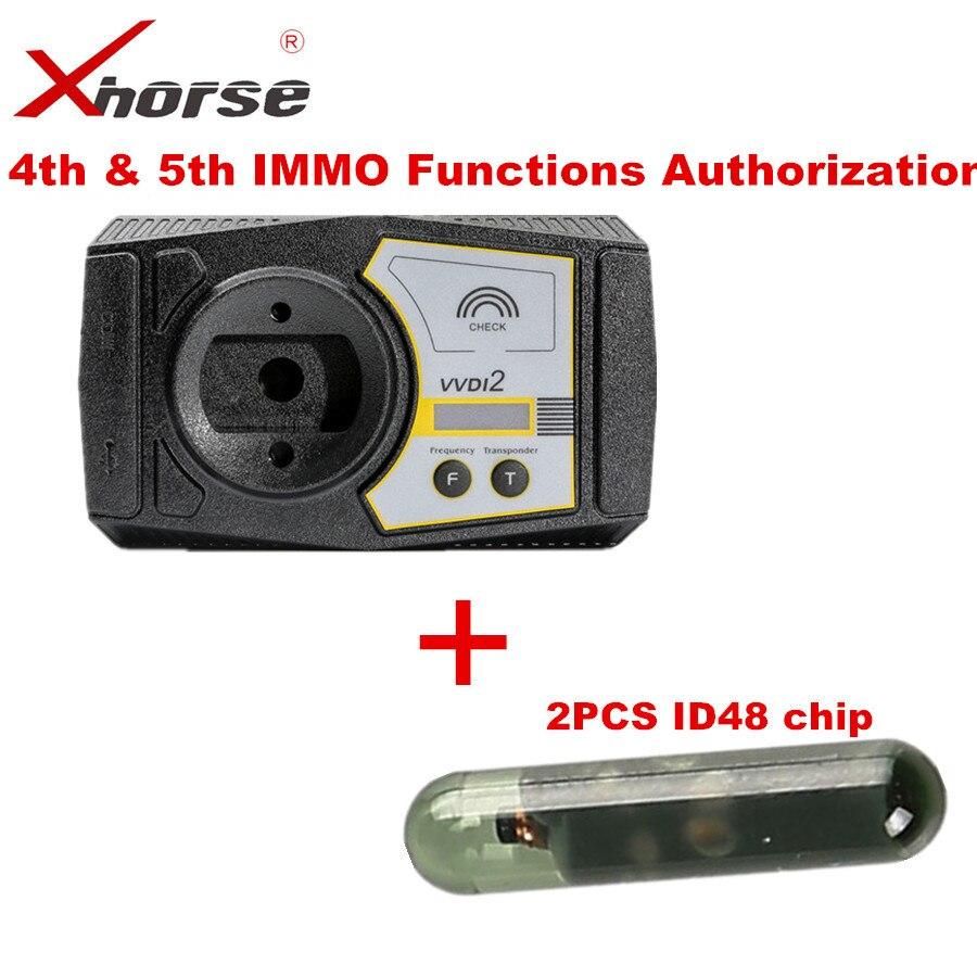 Programador de llaves comandante Xhorse VVDI2 para Audi para V-W 4ª y 5ª función IMMO, Autorización