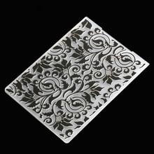 Plastic Embossing Folder Template 1Pcs Flower Rattan Card Making Paper Cards Album Scrapbooking Embossing Folder Template