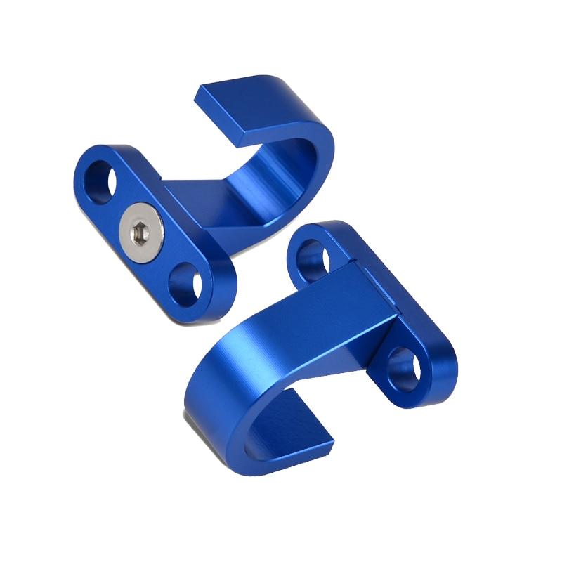 Support de câble de frein arrière H2CNC   Supports de tuyau pour YAMAHA YZ80 YZ85 YZ125 YZ250F YZ250X YZ400 YZ426F YZ450F YZ450FX TTR250