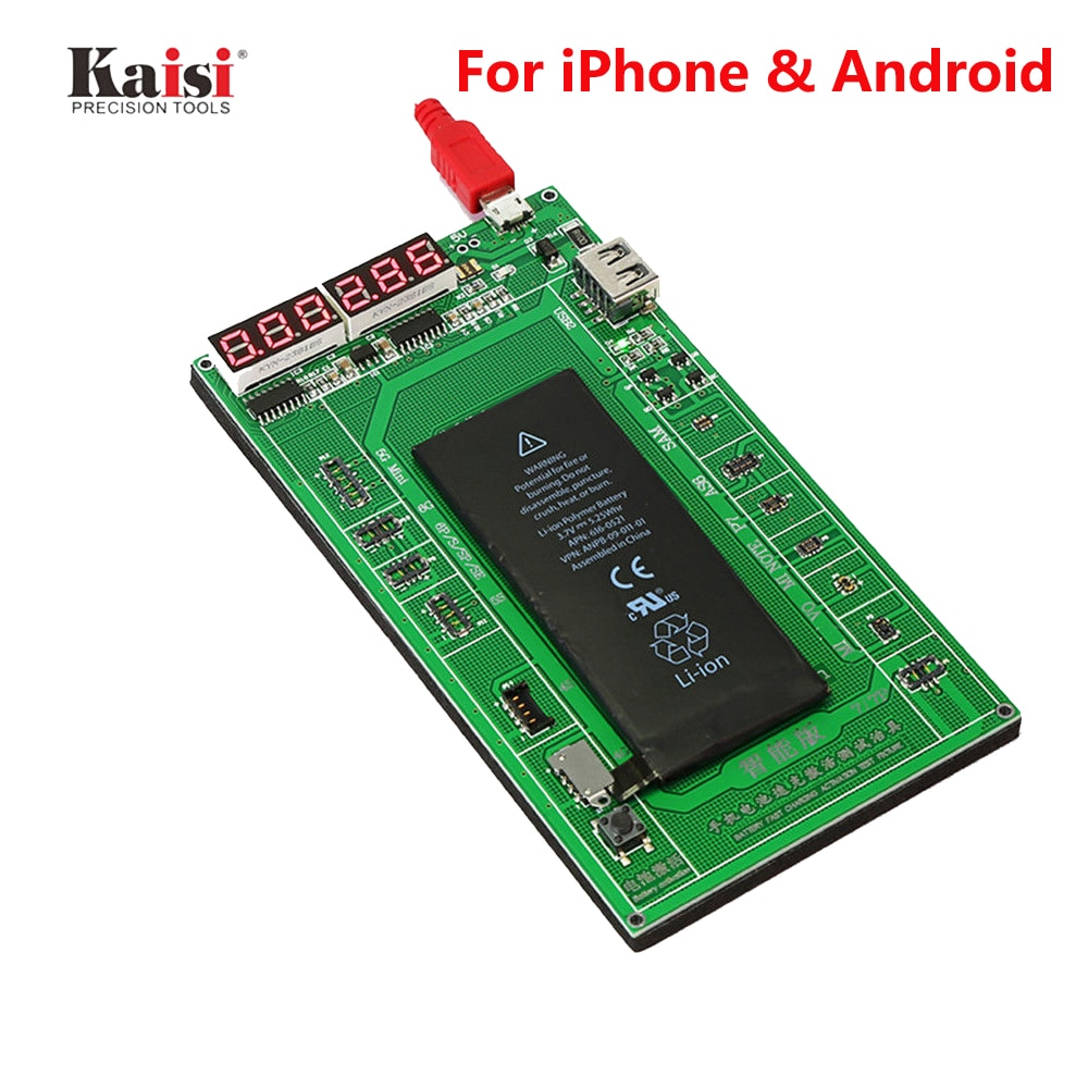 Phone Battery Activation Board Plate Charging USB Cable For iPhone 4 -8X VIVO Huawei Samsung xiaomi Circuit Test Repair Tools