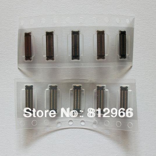 200 unids/lote, Original nuevo para iPad mini 1 2 3 mini1 mini2 mini3 LCD pantalla de visualización FPC conector en la placa de correo