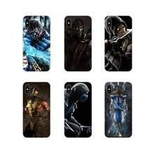For Huawei G7 G8 P7 P8 P9 P10 P20 P30 Lite Mini Pro P Smart Plus 2017 2018 2019 Customize Case Scorpion Sub Zero Mortal Kombat x
