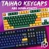 Taihao abs مزدوجة النار كيكابس لتقوم بها بنفسك لوحة مفاتيح الألعاب الميكانيكية لون أفضل بندقية dz هيدرو الكيمياء الحيوية الإشعاع
