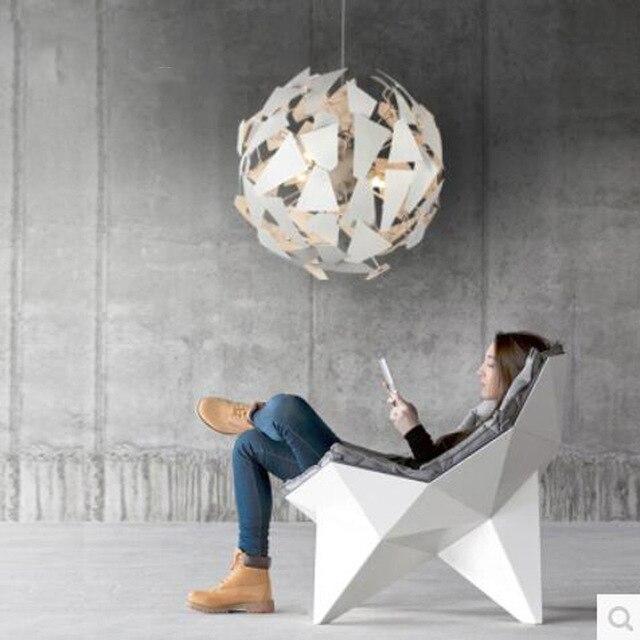European style Creative Circular Modern Pendant Light Luxury Simple LED Lamps For Living Room Bedroom Restaurant Home DHL Free