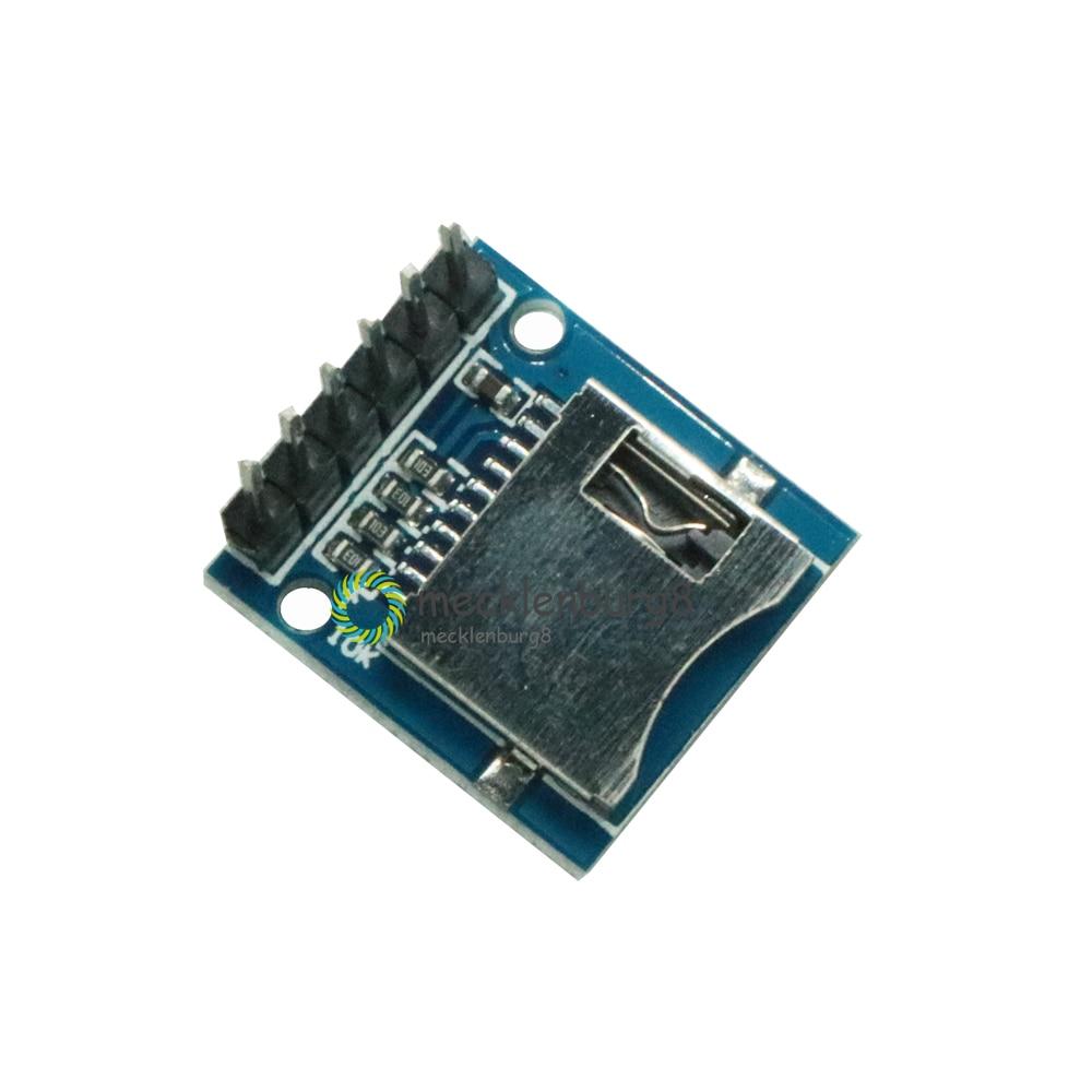 ¡2 piezas! Módulo de tarjeta TF Micro SD Mini tarjeta SD módulo de memoria para Arduino ARM AVR