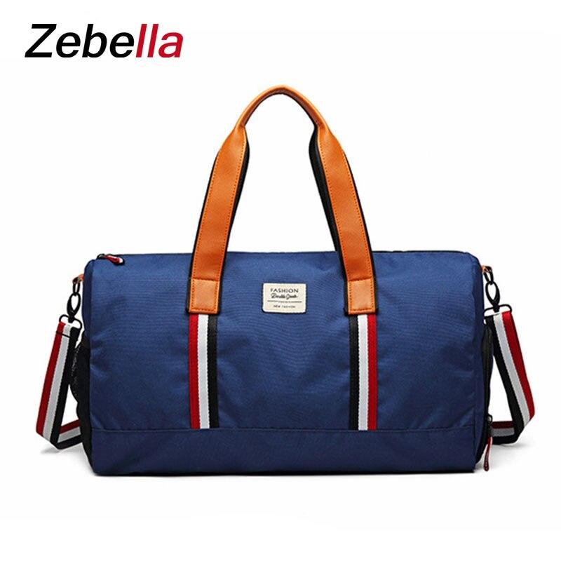 Zebella новая спортивная сумка для фитнеса Дорожная Портативный Большой