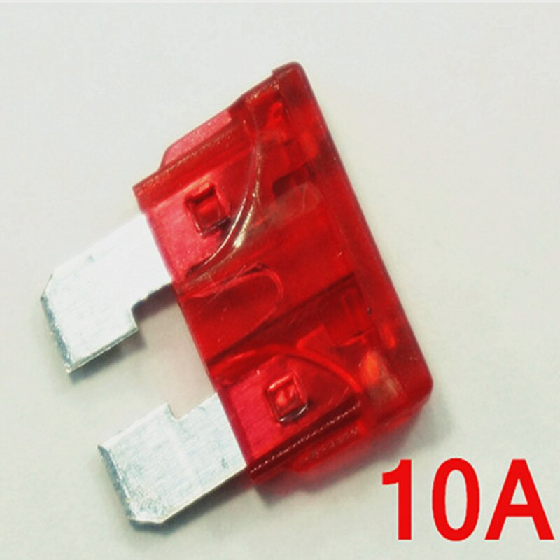 (100 pcs/lot)10A / 32V Car Vehicle Auto Medium Blade ATO Fuse, 10 Amp, Automotive Fuse.