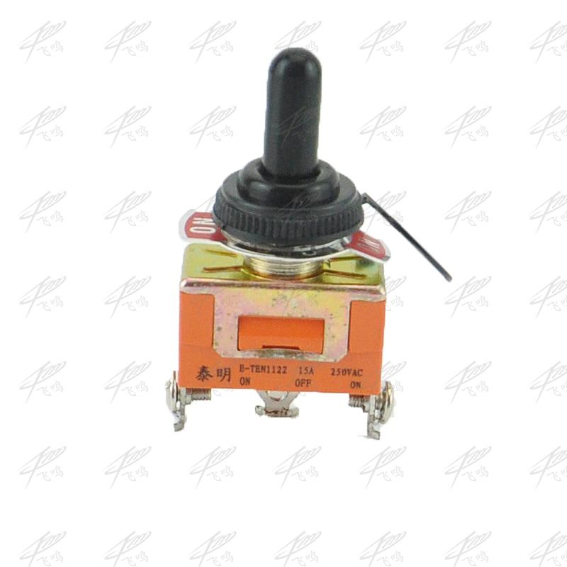 1 peça spdt à prova dwaterproof água interruptor interruptor on-off-on miniatura interruptores de alternância 15a 250vac/20a 125vac ve180 p0.4 E-TEN1122