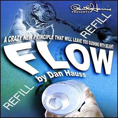 2 stücke Paul Harris Präsentiert Fluss Refill-Trick/magische trick/1 stücke großhandel