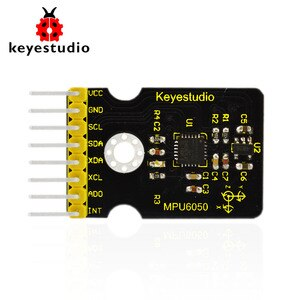 Free shipping! keyestudio GY-521 MPU6050 3 Axis Gyroscope and Accelerometer module  for Arduino